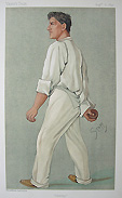 Original Vanity Fair Print - Cricketer - Sammy