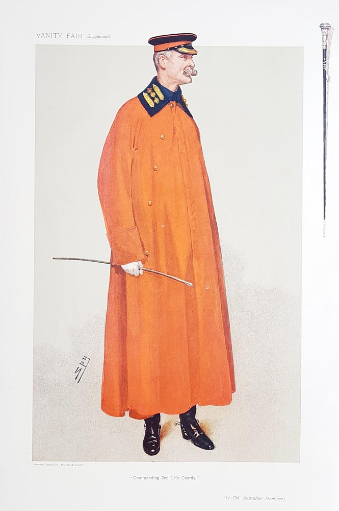 Original Vanity Fair Spy Print for sale Lt-Col Anstruther-Thomson