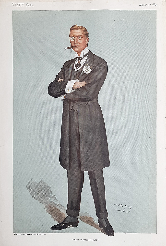 Original Vanity Fair Spy Print for sale Austen Chamberlain