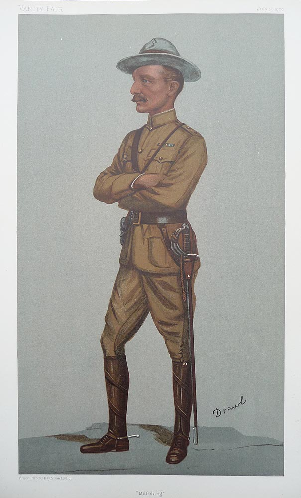 Baden-Powell Original Vanity Fair  Print for sale
