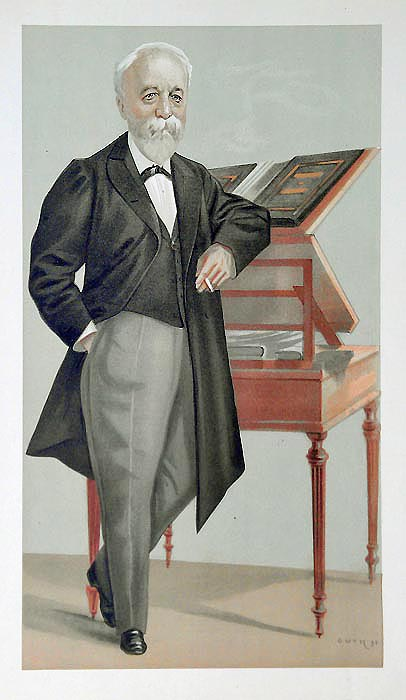 Barrister caricature from Vanity Fair - Brisson