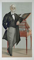 Barrister caricature - Vanity Fair