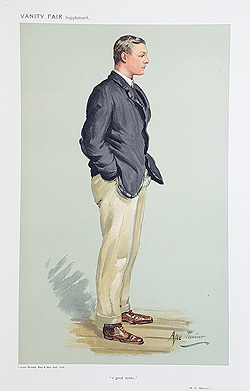 R. C. Bourne Vanity Fair Rowing Print for sale