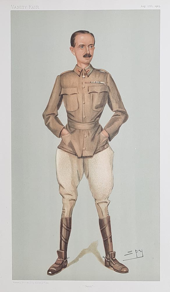 Original Vanity Fair Spy Print for sale Broadwood