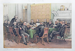 The Cabinet Council 1883