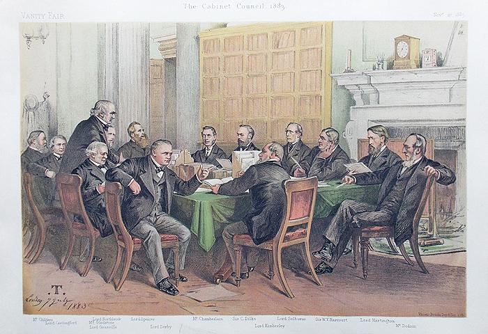 Right Hon William Gladstone Vanity Fair Print Ape 1879
