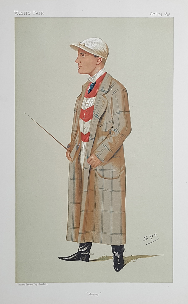 Original Vanity Fair Spy Jockey Print for sale H. Mornington Cannon