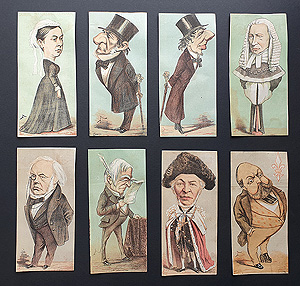 19th century caricature lithographs for sale
