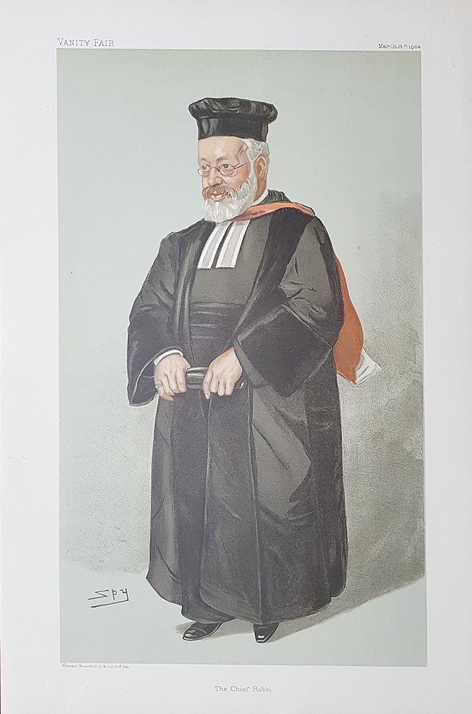 chief-rabbi Vanity Fair Print for sale