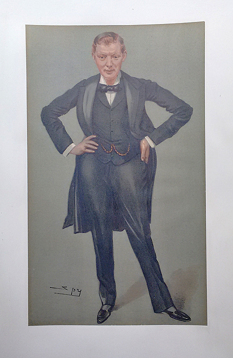 Winston Churchill Vanity Fair Print for sale
