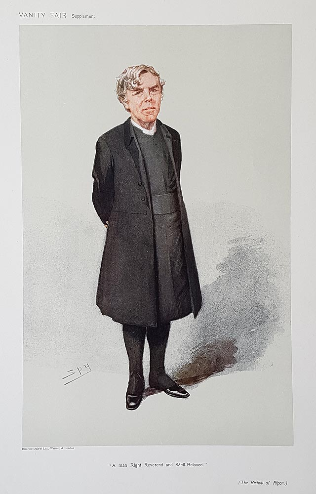The Bishop of Ripon  Vanity Fair Print for sale