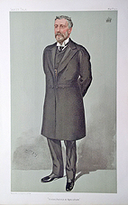 Viscount Cobham cricket vanity fair print for sale