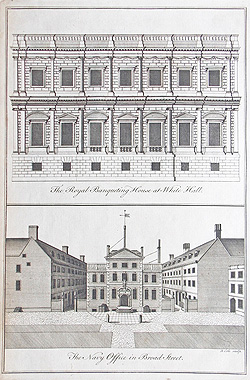 Whitehall engraving 1755