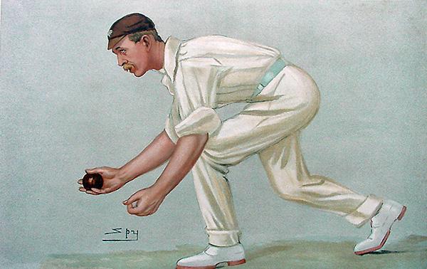 Vanity Fair Cricket Print Digby Jephson 1902