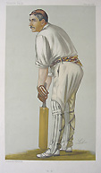 Cricketer Print Vanity Fair