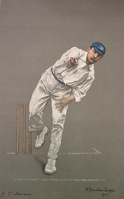 Original Chevallier Tayler Print for sale - J.T. HEARNE - Middlesex CCC