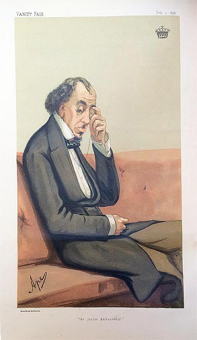 Original Vanity Fair Print of Benjamin Disaraeli for sale