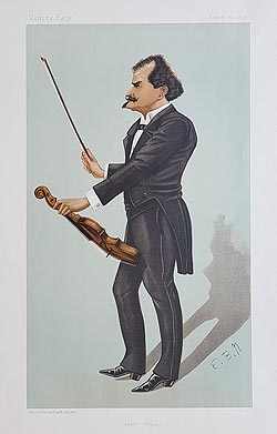 Strauss Vanity Fair Caricature for sale