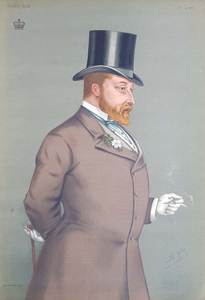Original Vanity Fair Royalty Print for sale HRH Edward VII