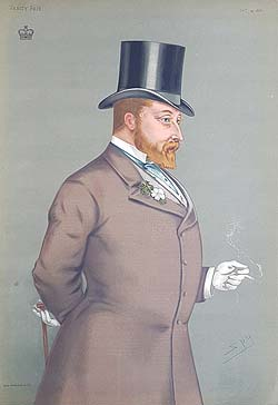 Edward VII vanity Fair print for sale