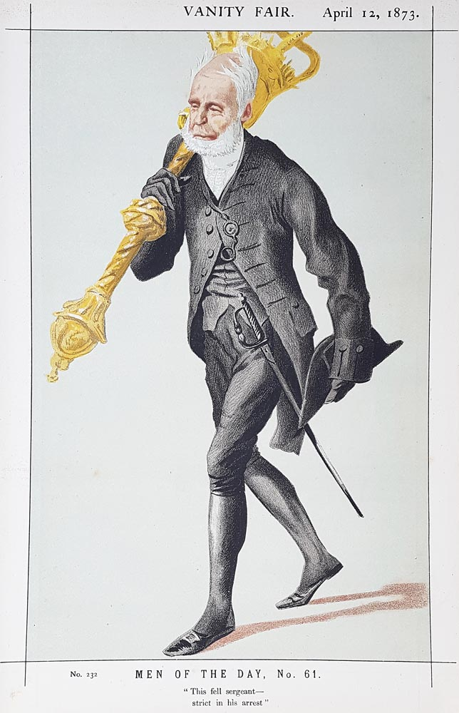 Original Vanity Fair Spy Print of Lieutenant-Colonel Lord Charles James Fox Russell for sale