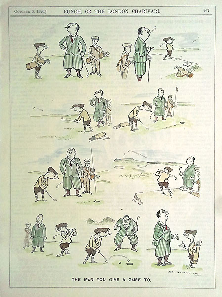 Golf Cartoon from Punch