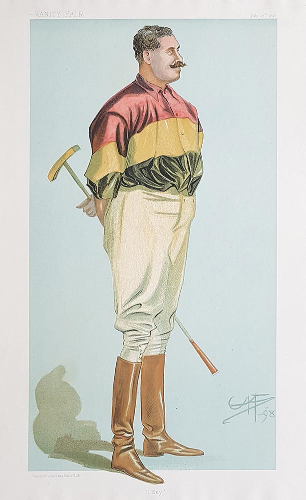 Hig Polo player portrait
