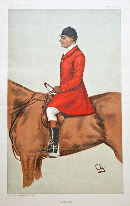 Original Vanity Fair Spy Print for sale John Hargreaves