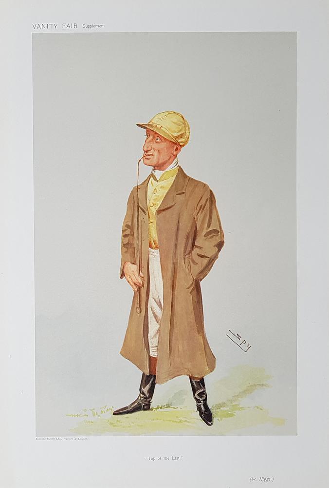 Vanity Fair Jockey Print For Sale William Higgs 1906