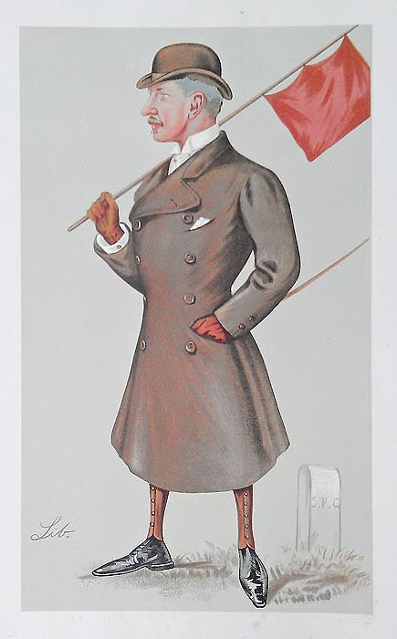 Lord Beresford - Jockey Club Starter - Caricature by Spy