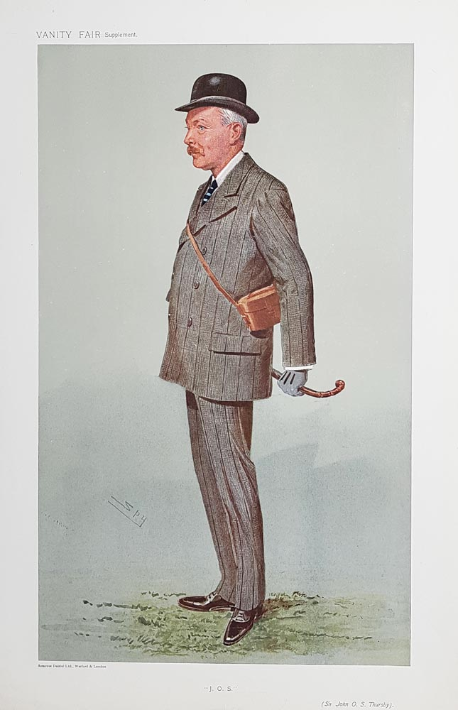 Original Vanity Fair Spy Jockey Print for sale Sir John  Thursby