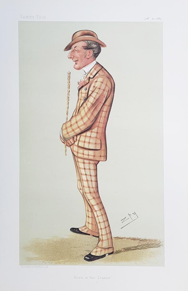 Original Vanity Fair Spy Print for sale Henry Reginald Corbet