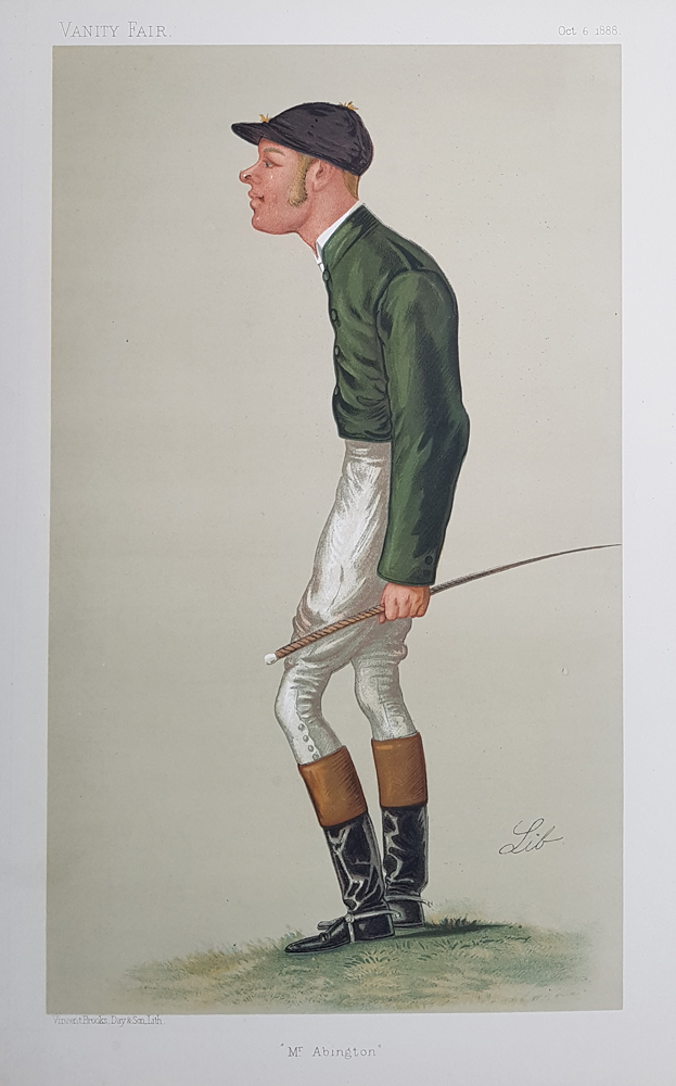 Original Vanity Fair Spy Jockey Print for sale Mr G. A. BAIRD