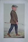 Vanity Fair Golf Print by Spy - Golf Memorabilia