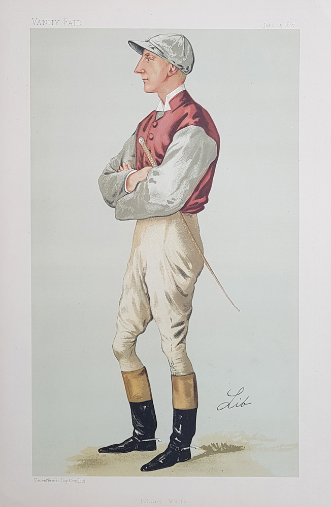 Original Vanity Fair Spy Jockey Print for sale Johnny Watts