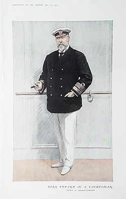 King Edward VII caricature