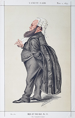 Kenaly - Lawyer caricature for sale