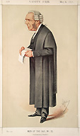 Lawyer - Vanity Fair Caricature