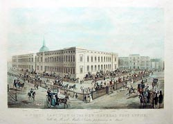 A North East View of the new General Post Office London