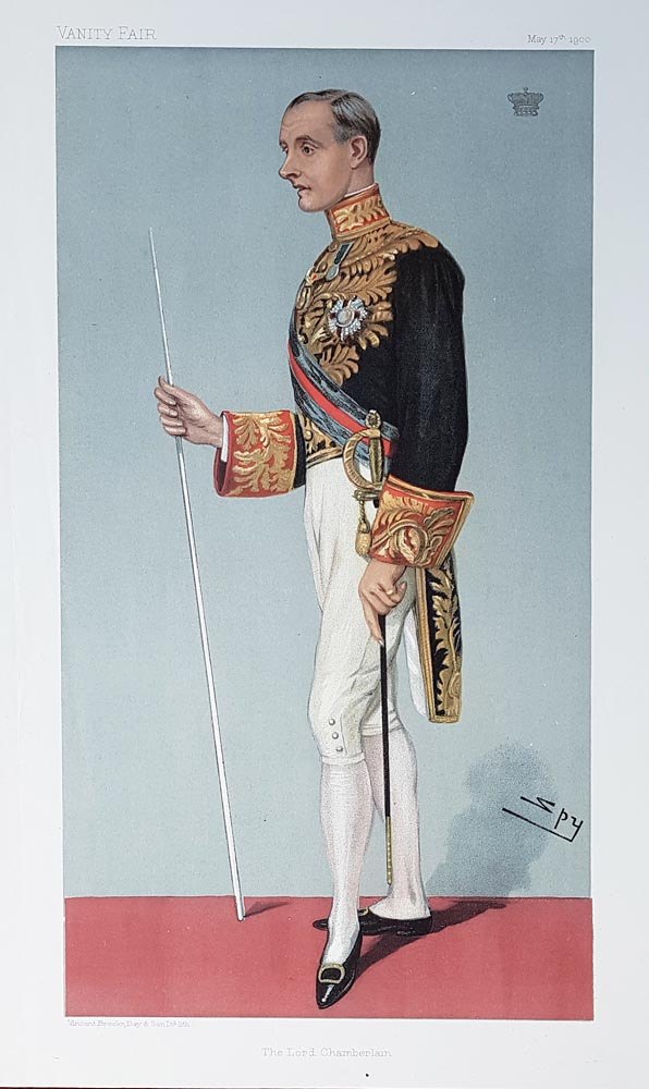 Original Vanity Fair Spy Print of Earl of Hopetoun for sale