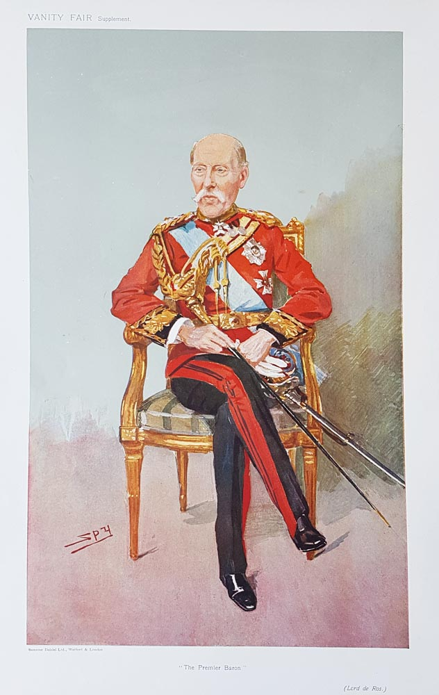 Original Vanity Fair Spy Print for sale lord de ros