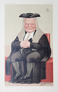 Lord Halsbury Judge