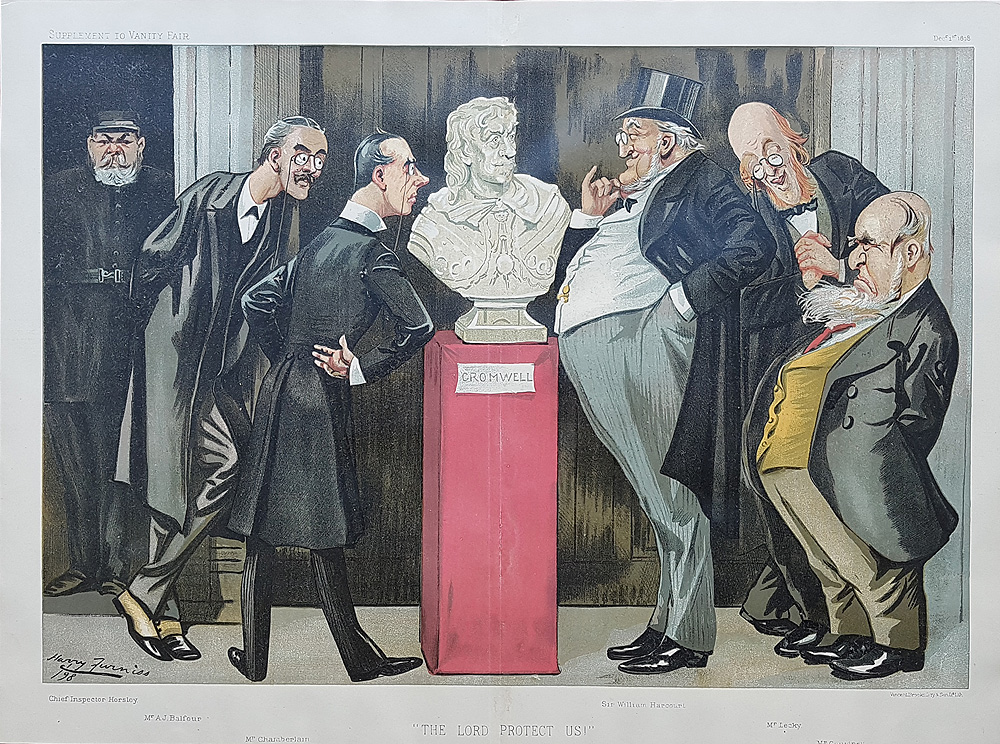 Original Vanity Fair Spy Print of Lord Protect us for sale