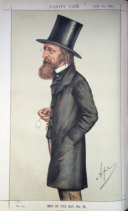 Original Vanity Fair  Print for sale Alfred Lord Tennyson