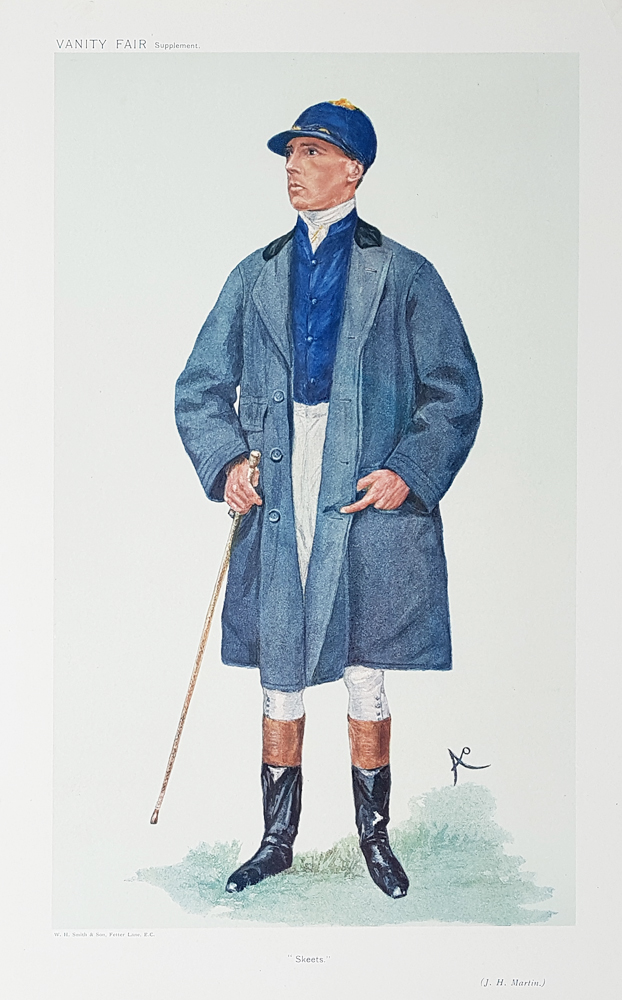 Original Vanity Fair Spy Jockey Print for sale Mr J H  Martin