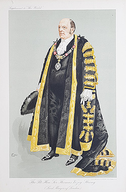 The Rt. Hon. Sir Thomas Vezey Strong - Mayor of London 1910