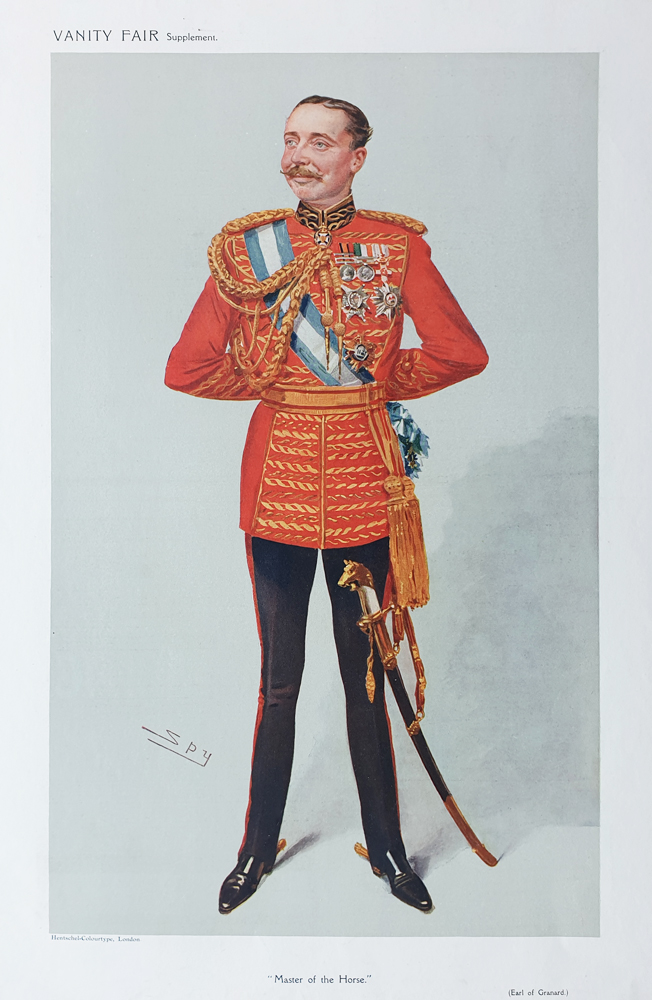 Earl of Granard Original Vanity Fair  Print for sale