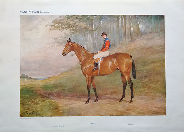 Famous Racehorses from Vanity Fair - Minoru