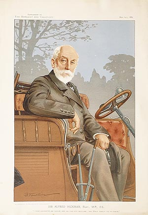 Motorist and Traveller print - Sir Alfred Hickman