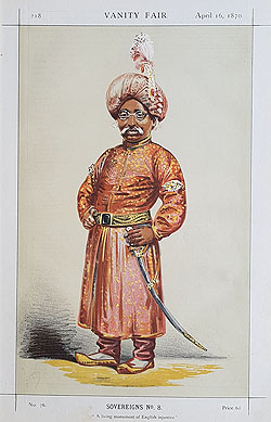 The Nawab Nazim of Bengal, Behar and Orissa
